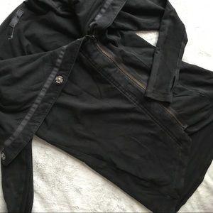 Lululemon Method Wrap Jacket Sweatshirt Black